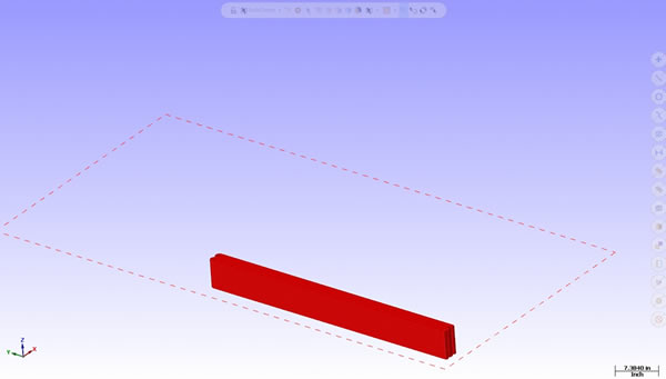 With LSAM Print3D, you can break up comples parts into multiple individual parts
