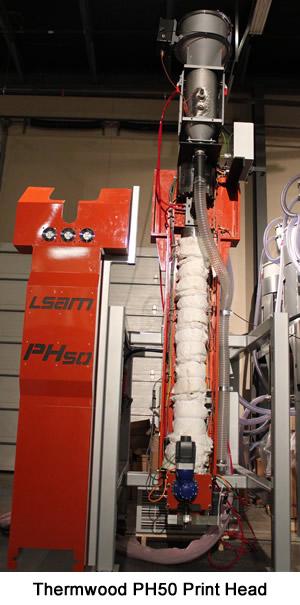 Thermwood LSAM PH50 Print Head