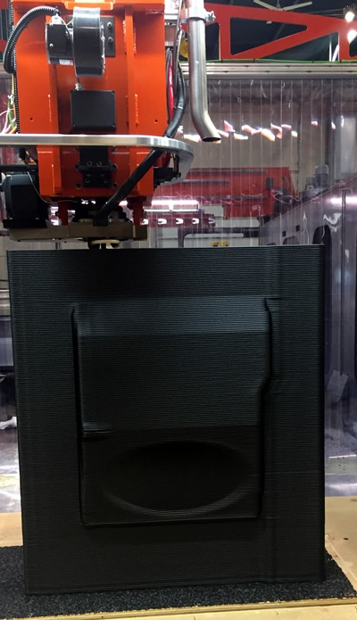 3D Printing Mold on Thermwood 10'x20' LSAM®