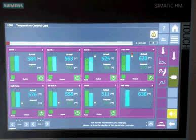 Temperature Control Module Integrated into LSAM