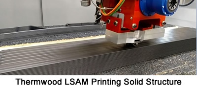 LSAM Solid Structure Printing