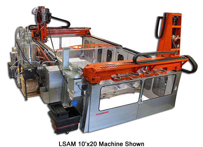 LSAM 10'x20' Machine Shown