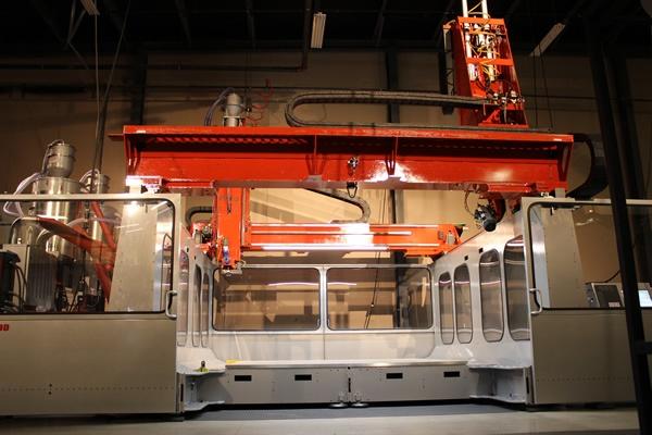 Thermwood LSAM 10'x10' Additive Manufacturing Machine