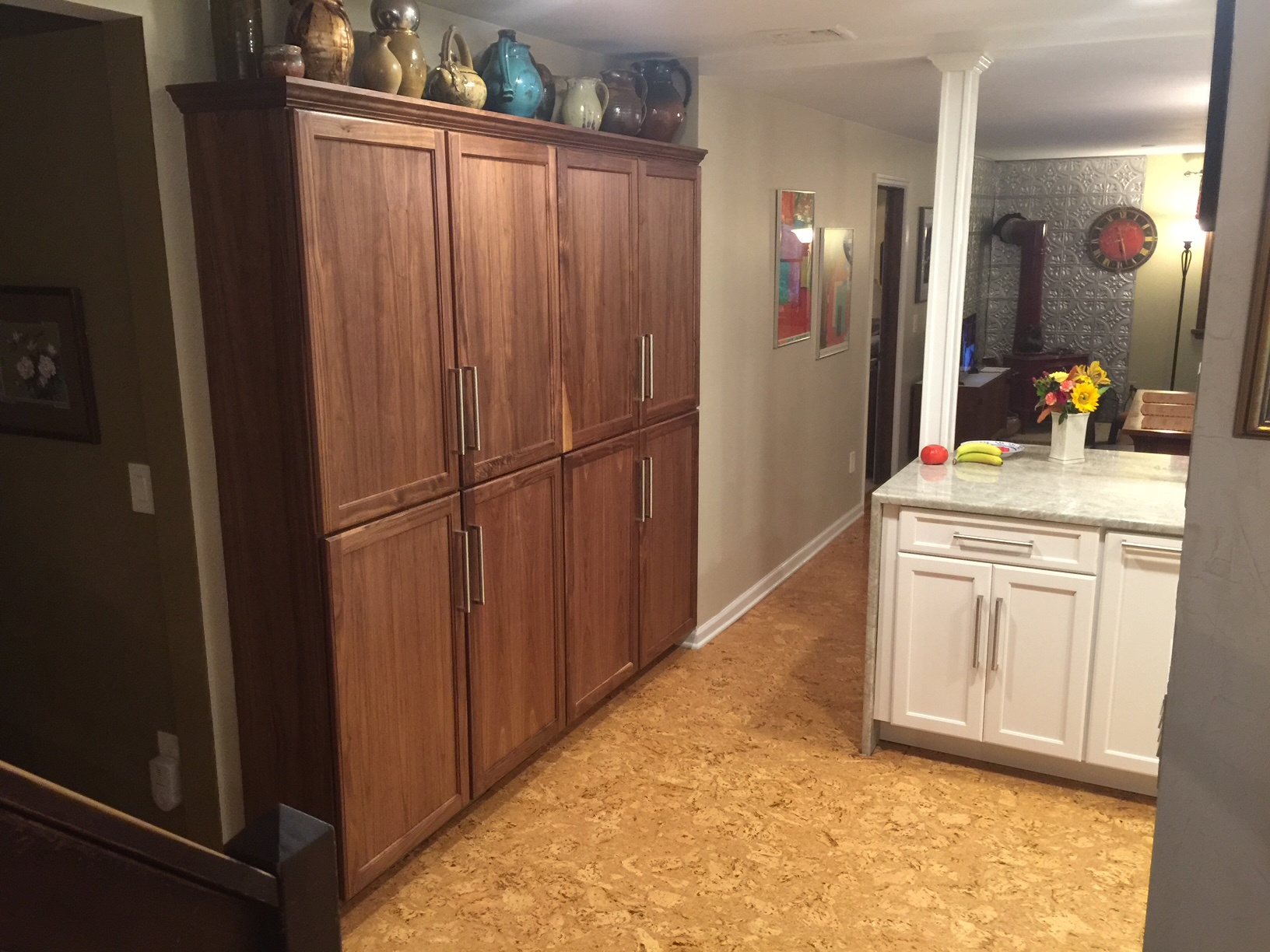RTA Cabinets from Arkansas Wood Doors - created on a Thermwood Cut Center