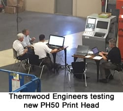 Thermwood Engineers Testing LSAM PH50 Head at Full Output