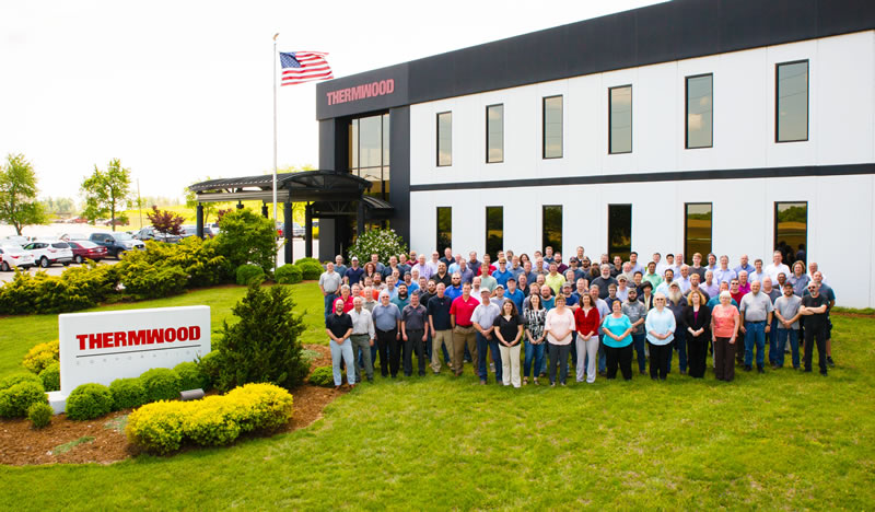 Thermwood Personnel and Dealers during the 2017 Dealer Conference
