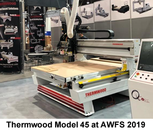 Thermwood Model 45 at AWFS 2019
