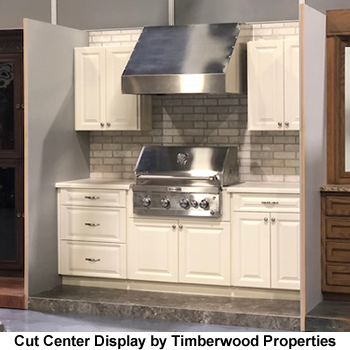 Cut Center Display created by Cut Center owner Timberwood Properties in Leesburg, FL