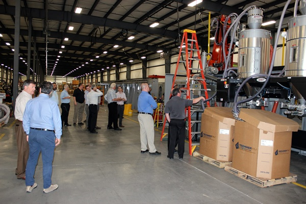 Touring several new LSAM's under construction