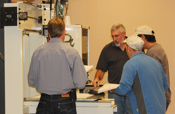 Thermwood Training Class in Dale, IN