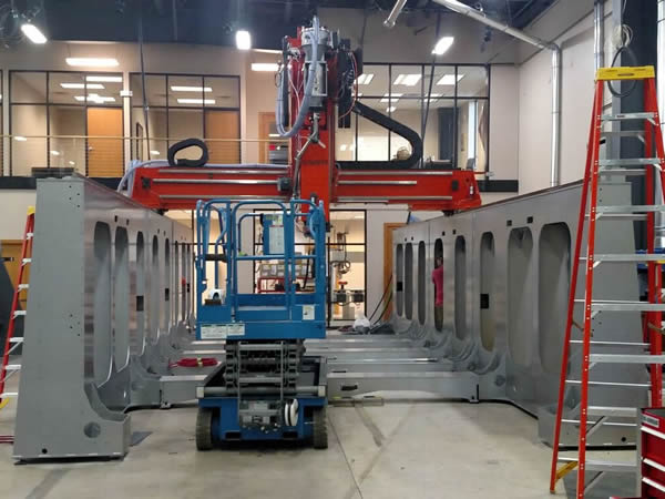 New 10'x20' Demonstration LSAM Under Construction